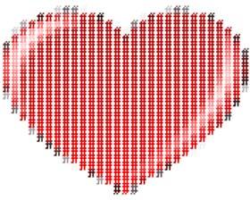 ASCII Herz