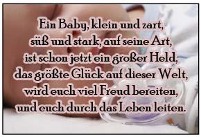 Babygedichte