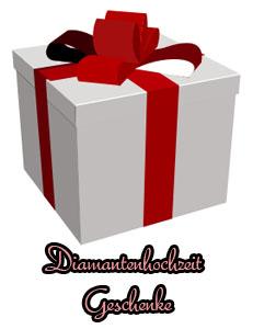 diamantene hochzeit geschenk geschenkideen 60 hochzeitstag. Black Bedroom Furniture Sets. Home Design Ideas