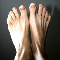 Fußnägel schneiden