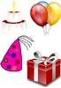 Geburtstagssymbole