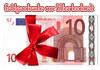 Geld zur Silberhochzeit verpacken Geschenk