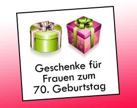 Geschenke f r frauen zum 70 geburtstag geschenkideen for Geschenke zum 70 geburtstag mama