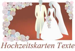 Hochzeitseinladungssprüche - Sprüche für Hochzeitseinladung