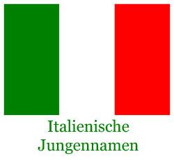 Italienische Jungennamen