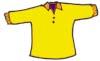 Malvorlage Kleidung