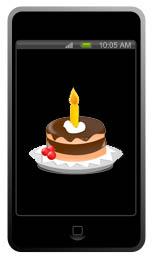 Kurze SMS zum Geburtstag