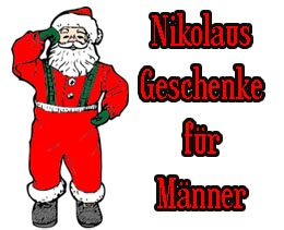 nikolausgeschenke f r m nner geschenkideen zu nikolaus. Black Bedroom Furniture Sets. Home Design Ideas