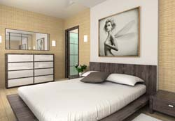 schlafzimmer wandgestaltung w nde gestalten. Black Bedroom Furniture Sets. Home Design Ideas