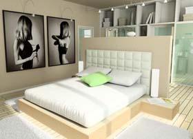 schlafzimmergestaltung ideen gestaltung tipps f r. Black Bedroom Furniture Sets. Home Design Ideas