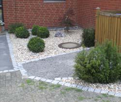 vorgarten gestalten modern reihenhaus – spinjo, Garten ideen gestaltung