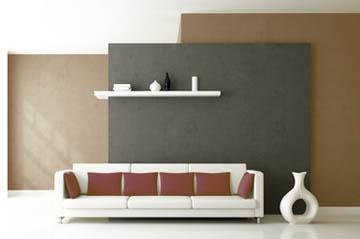 wohnzimmer mit braun gestalten farben und tipps. Black Bedroom Furniture Sets. Home Design Ideas