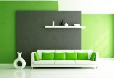 Wohnzimmer Einrichten Grau Grün | Mabsolut.com Wohnzimmer Modern Grau Grun