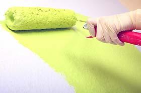 Wohnzimmer grün streichen