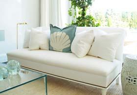 Wohnzimmer Weiß und Grau gestalten - moderne Wohnzimmerfarben