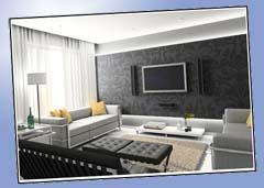Wohnzimmer Beispiel Schwarz Wei�