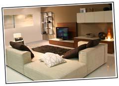 Wohnzimmer Beispiel Natur Farben